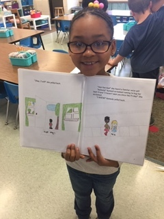 1st grade book project